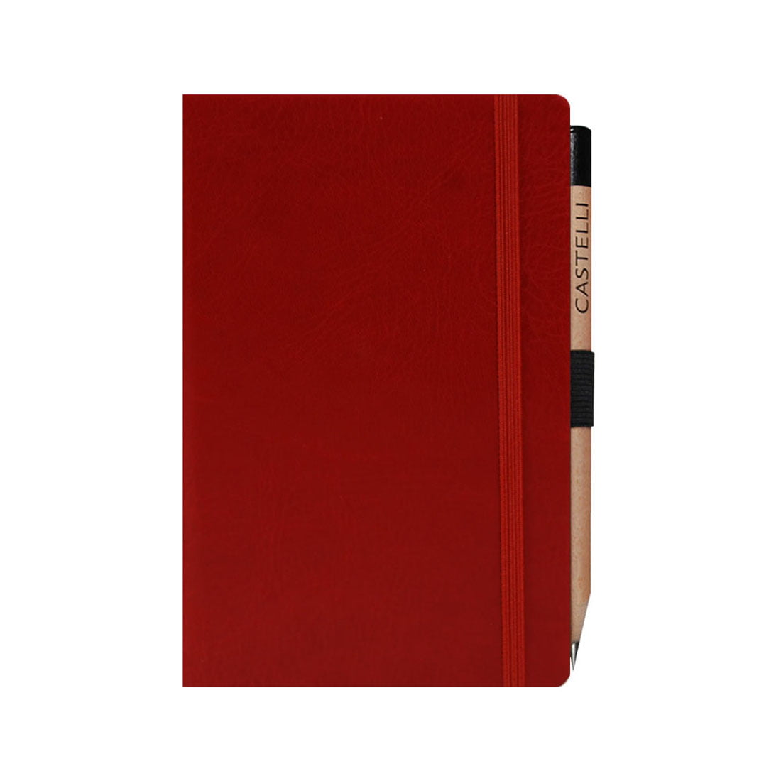 Pocket notebook with a high quality retro pencil included.