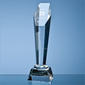 28cm Optical Hexagon Column Award