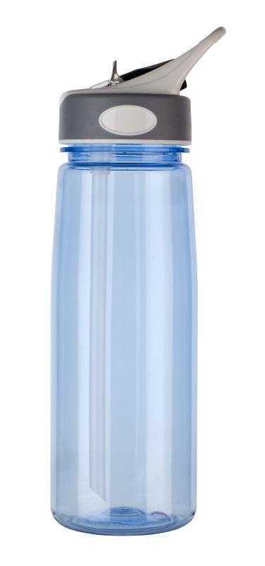 800ml sports bottle in light blue