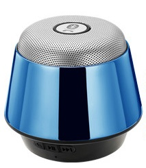 Vadar Bluetooth speaker in blue with stunning UV finish